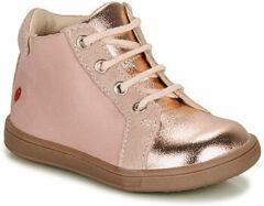Roze Hoge Sneakers GBB FAMIA