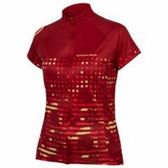 Endura - Women's Hummvee Ray S/S Jersey - Fietsshirt maat XL, rood