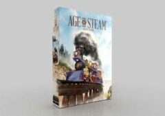 Eagle-Gryphon Games Age of Steam Deluxe Board Game
