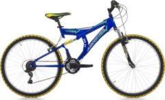 Cicli Cinzia 24 ZOLL CINZIA ARROW FULLY JUNGEN MOUNTAINBIKE 18-GANG Kinder blau