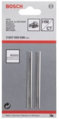 Bosch Accessories Hard metalen schaafmes 82.4 mm 2607000096 2 stuks