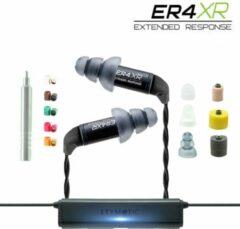 Zwarte Etymotic ER4XR-BT premium kit - in-ear headphones, noise cancelling, universele tip-kit