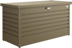 Biohort tuinkussen opbergbox Hobby 130 bruin 460L 134x62x71 (BxDxH)