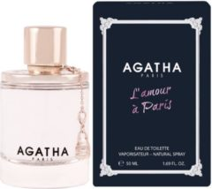 Agatha Paris Camomila Intea Agatha L'Amour A Paris Eau De Toilette Spray 50ml