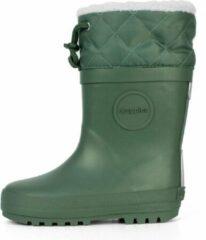 Druppies Regenlaarzen Gevoerd - Winter Boot - Groen - Maat 26