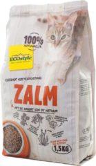 Ecostyle Vitaalcompleet - Zalm - Kattenvoer - 1.5 kg