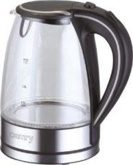 Zilveren Camry Waterkoker CR 1239 - Electrische Waterkoker - 1,7 ltr
