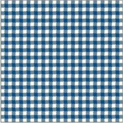 Ambiente Oktoberfest - 60x Geruit blauw wit servetten 33 x 33 cm - Papieren wegwerpservetten 3-laags met ruitjes - Oktoberfest//Bayern themafeest