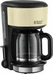 Creme witte Russell Hobbs Colours Classic Cream Koffiezetapparaat 20135-56