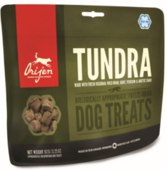 Orijen Freeze-Dried Treats Dog Tundra - Hondensnacks - Geit Zwijn 42.5 g