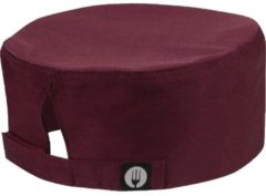 Zwarte CHEF WORKS - COLOUR Chef Works cool vent beanie bordeaux