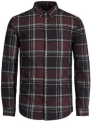JACK & JONES Essential Long Sleeved Shirt Men Purple