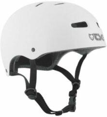 Witte TSG Skate/BMX Injected White bmx/skate helm