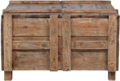 Bruine VidaXL Salontafel 65x65x38 cm massief gerecycled hout VDXL 283939