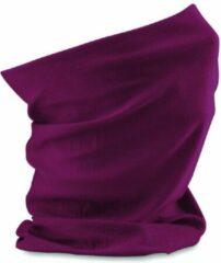 Beechfield Morf paars gezichtsmaskers faceshield