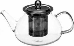 Transparante Secret de Gourmet Theepot/theekan met filter 85 cl