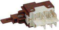 Zanussi-electrolux Tastenschalter 1-fach (Ein/Aus) für Geschirrspüler 50287473008
