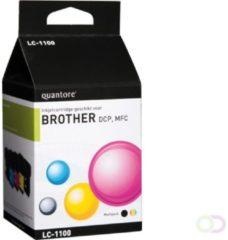 Quantore Inktcartridge - Huismerk Brother LC-1100 - Zwart + Kleur ( Cyaan / Magenta / Geel )
