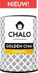 CHALO Vegan Golden Chai - Indian Chai Latte - Kurkuma - Zwarte Assam thee - 25 porties/ 300GR
