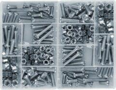 Wood, Tools & Deco Set van 250 stuks bouten en moeren in 2 doosjes