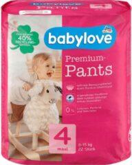 Babylove Premium pants luierbroekjes - maat 4 - Maxi -8-15 kg (22 stuks)