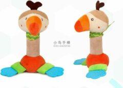BBSKY Speelgoed/ Speeltje/ Bijtring/ Bijtspeelgoed Baby Bell Bijtring/ Kerst cadeau Bed Opknoping Dier Rammelaar Genoemd Muziek Speelgoed (Pluche)/ Vogel