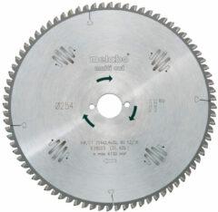 Metabo 628092000 Hardmetalen cirkelzaagblad multi cut HW/CT 315x30 96 FZ/TR