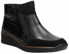 Zwarte Boots en enkellaarsjes Nami by Rieker