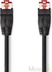 Zwarte Nedis Cat 6 UTP Network Cable   RJ45 Male - RJ45 Male   0.25 m   Black