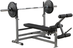 Halterbank - Body-Solid Olympische Halterbank GDIB46L