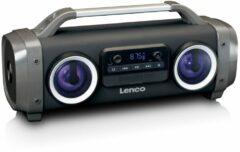 Lenco SPR-100 - Bluetooth speaker me licht effecten - Zwart