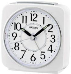 Seiko wekker - QHE140W - wit kunststof kast