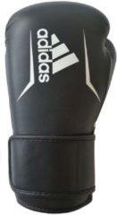 Adidas Speed 175 Bokshandschoenen Zwart met Wit-14 oz.