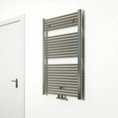 SaniGoods Inola handdoek radiator 120x60cm chroom 550Watt