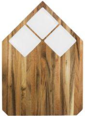 Witte TAK Design Pau Snijplank - Acaciahout - 40,5 x 28,5 cm - Wit