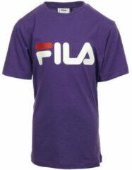 "Paarse T-shirt Korte Mouw Fila Kids Classic Logo Tee ""Tillandsia"""
