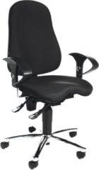 Zwarte Topstar Sitness 10 - Bureaustoel - Orthopedisch - Zwart