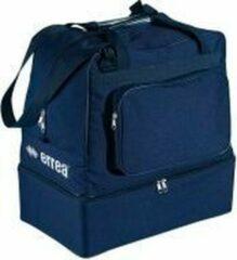 Errea Sporttas - Basic Media Bag - met schoenenbak - Donkerblauw