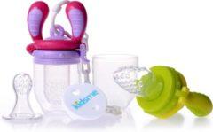 Kidsme - Food Feeder Starter Pack - Lime/Lavender