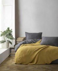 Gele Merkloos / Sans marque Mousseline Sprei - Saffron - 100% Katoen - 170x220