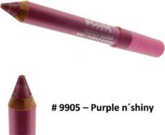 Paarse Biguine Make Up Paris Trendy Gloss - Lip Gloss lippenstift kleur - 2,32g - 9905 Purple n´shiny