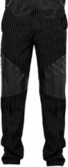 Zwarte VG London Gothic pinstripe mens pants XS 28 inch waistFront Length: 42 (106.68 cm) inchesBack Length: 42 (106.68 cm) inches with a grade 10mm grade in each size up.