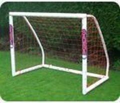 Witte Taktisport UPVC Jeugdgoal - voetbaldoel - 1.55m x 1.25m - van licht en onbreekbaar kunststof