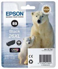 Cartuccia d'Inchiostro Epson T2631 XL - Serie Expression Premium XP - Nero Foto