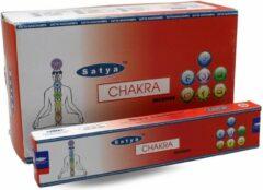 Witte Nag champa Wierook Satya Chakra - 15