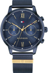 Tommy Hilfiger TH1782305 Horloge - Staal - Blauw - Ø 38 mm