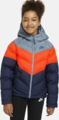 Donkerblauwe Nike Kinder Winterjas CU9157-033 - Maat 158 - 170 cm
