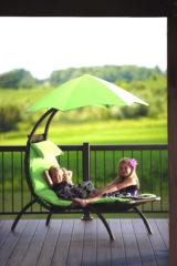 Groene Vivere Loungestoel 1 persoons Dream Green