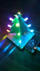 Groene AREXX XMJ-APAS Programmeerbare Kerstboom (Micro:bit en Arduino)