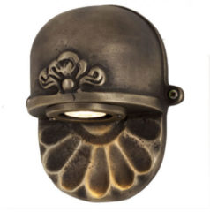 KS Verlichting Bronzen Tramonto Brass unieke wandlamp KS 6606